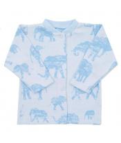 Kojenecký kabátek Baby Service Sloni modrý