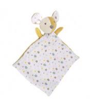 CANPOL BABIES Mazlíček hebký s chrastítkem Mouse