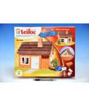 Stavebnice Teifoc Domek Carlos 200ks v krabici 35x29x8cm