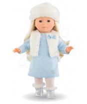 Ma Corolle Panenka Priscille bleděmodré šaty a modré mrkací oči 36 cm - Speciální edice od 4 let