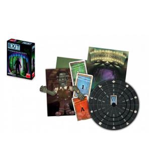 Úniková hra Exit: Prokletá horská dráha společenská hra v krabici 13x18x4cm