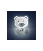 CHICCO Noční světélko hudební Medvídek modré 0m+