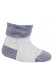 WOLA Ponožky kojenecké bavlněné neutral Grey 15-17