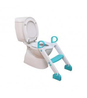 DREAMBABY Stupínek k WC modro/bílá
