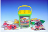 Stavebnice Cheva 8 Benzínová stanice plast 349ks v krabibi 35x19x9 cm