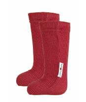 Manymonths ponožky s gumičkou mer19 Cranberry Nectar