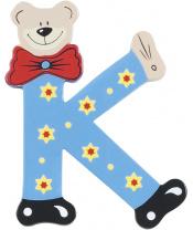 Playshoes dřevěné písmenko K