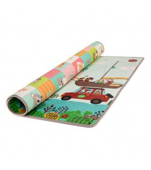 Zopa Pěnová podložka Play Maxi 200*180 cm, cestování/zvířátka