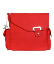 Přebalovací taška Vegan Strawberry Red