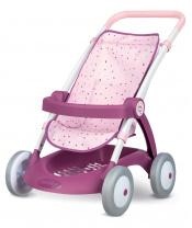 Smoby SM254003 Kočárek sportovní Violette Baby Nurse  pro panenky (55 cm rukojeť) od 18 měsíců