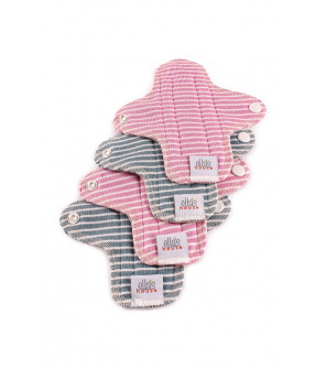 Moon pads mini stripes 4 ks