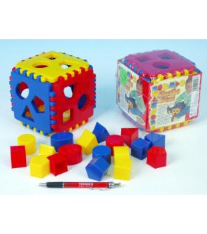 Vkládací kostka Mimi 1 plast 12,5x12,5x12,5cm 6m+
