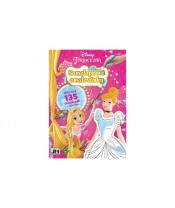 Samolepková omalovánková knížka Princezny Disney 21x30cm