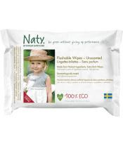 Ubrousky vlhčené toaletní Babycare Eco 42ks Naty Nature