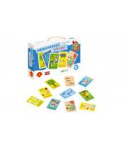 Poznávání pro nejmenší - Hádej hádanky naučná hra v krabici 28x19x5cm