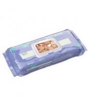 Lansinoh dětské lanolínové ubrousky na čištění a péči 80ks  DOPRODEJ
