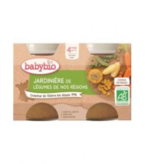 BABYBIO Příkrm zeleninová směs (2x 130 g)
