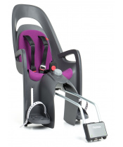 HAMAX Cyklosedačka Caress Grey/Dark Grey/Purple