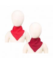Manymonths oboustranný šátek merino Poppy Red