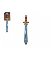 Meč pěnový měkký 54cm na kartě
