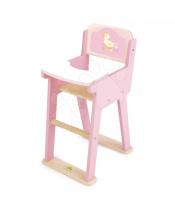 Tender Leaf Toys Dřevěná jídelní židle Sweetiepie Dolly Chair  pro panenku 36 cm
