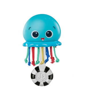BABY EINSTEIN Hračka hudební a světelná Ocean Glow Sensory Shaker ™ 0m +