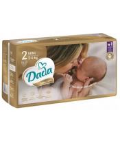 DADA Jednorázové pleny Extra Care vel. 2 (3-6 Kg), 43 ks