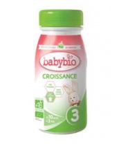 BABYBIO Croissance 3 tekuté kojenecké bio mléko (0,25 l)