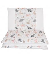 EKO Prádlo ložní 2dílná Roe-Deer 90x120cm + 40x60cm