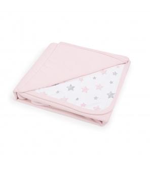 CEBA Deka dětská 90x100 Candy pink + Pink Stars