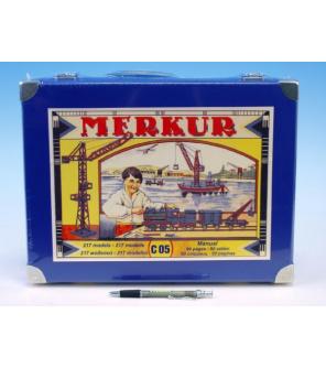 Stavebnice MERKUR Classic C05 217 modelů v krabici 36x28x6cm