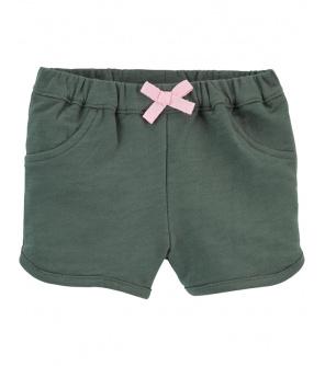 CARTER'S Kalhoty krátké Green dívka 12 m, vel. 80