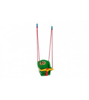 Houpačka Baby s pískátkem plast zelená nosnost 20kg 35x34x35cm