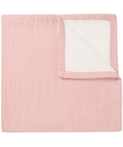 Deka U Baby bed sweat Noto 120x120 cm Old Pink