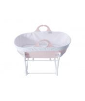 Košík na miminko Sleepee se stojanem Pink