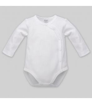 PINOKIO Body knoflíky dlouhý rukáv, bílá, vel.56 BI